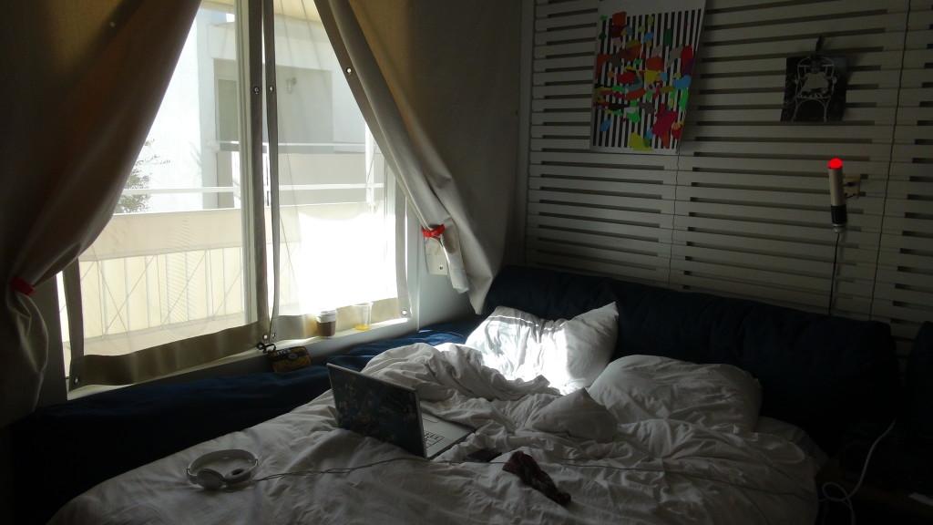 Super cozy, clean beds with crisp white linens.