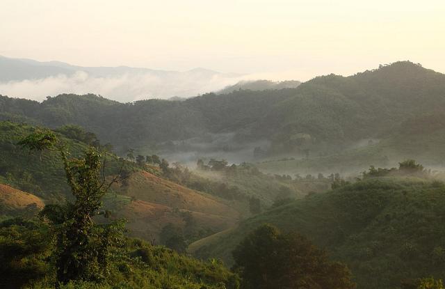 Northern Thailand via  Leon Rice-Whetton on flickr Creative Commons