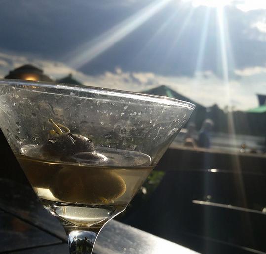Martinis at Elijahs
